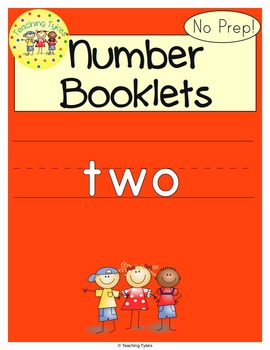 Number Two Number Sense and Numeration Interactive Book
