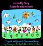 MP3 25 songs: Learn My Way/Aprende a mi manera (Calenar Time Music)