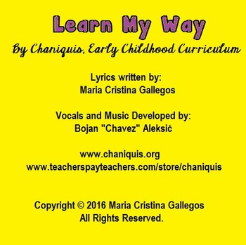 12 MP3 songs: Learn My Way (Early Childhood Circle-Time Music)