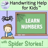 Learn to Write Numbers - Preschool and Kindergarten Handwr