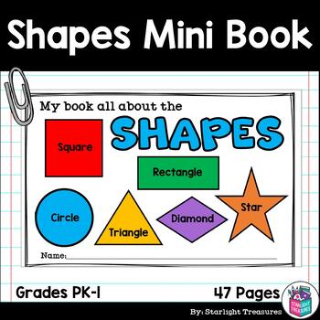 Learn Our Shapes: Shapes Mini Book for Early Readers
