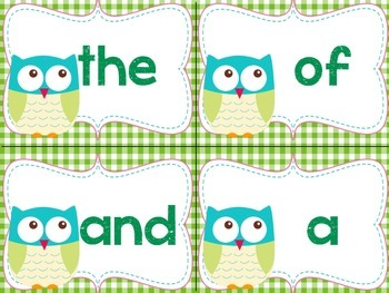 Learn 'Owl' My Sight Words