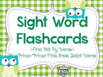Learn 'Owl' My Sight Words