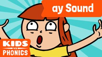 Learn Phonics: AY - Kids vs Phonics