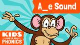 Learn Phonics: A_E - Kids vs Phonics