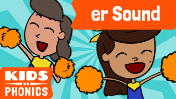 Learn Phonics: ER - Kids vs Phonics