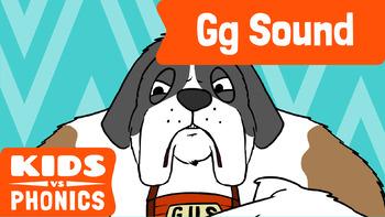 Learn Phonics: G - Kids vs Phonics