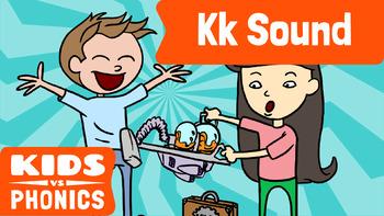 Learn Phonics: K - Kids vs Phonics