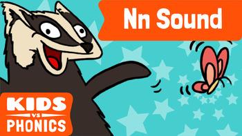 Learn Phonics: N - Kids vs Phonics