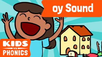 Learn Phonics: OY - Kids vs Phonics
