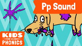 Learn Phonics: P - Kids vs Phonics