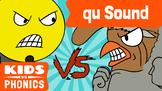 Learn Phonics: QU - Kids vs Phonics