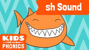 Learn Phonics: SH - Kids vs Phonics