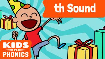Learn Phonics: TH (soft) - Kids vs Phonics
