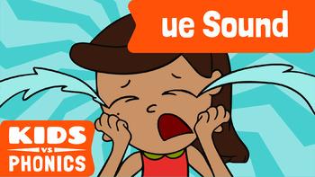 Learn Phonics: UE - Kids vs Phonics