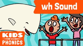 Learn Phonics: WH - Kids vs Phonics