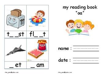 Learn Phonics (oa)