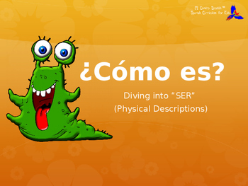 Learn Physical Descriptions in Spanish! - (Presentation with Question & Answer)