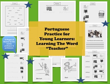 Learn Portuguese for Young Learners (The Word Teacher)