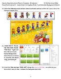 Learn PowerPoint (Office 2013) with Super Smash Brothers (Mario) content