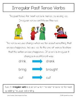 Learn, Practice, Check: Irregular Past Tense Verbs