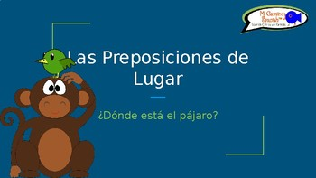 Learn Prepositions of Place in Spanish! - ¿Dónde está el p