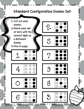 Compose Numbers to Ten with Numbers and Pictures Using Structured Arrangements