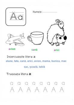 Learn Romanian - Letter A