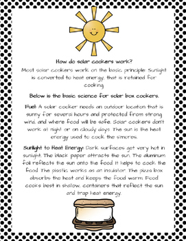 Learn S'More about Heat Energy the Sun: Make a Solar Oven!