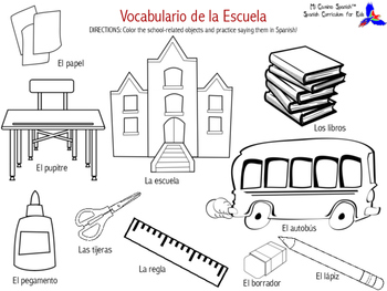 Learn School-Related Vocabulary in Spanish!