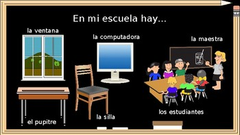 Learn School-Related Vocabulary in Spanish! (Presentation with Q&A)