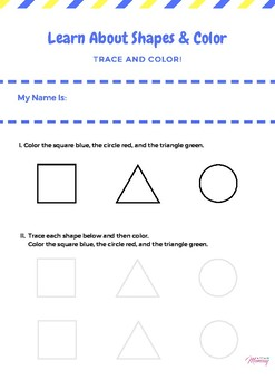 Learn Shapes and Colors