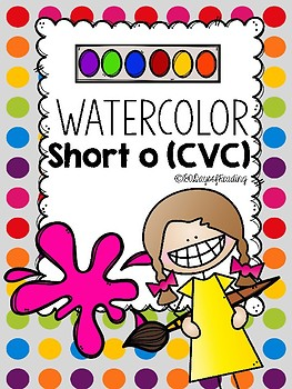 Multisensory Short O with Water Colors!