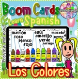 Learn Spanish  Colors - Aprende los colores | BOOM Cards
