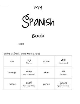 Learn Spanish Mini Book