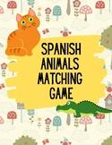 Learn Spanish | Spanish Animal Match Game | Spanish Matching Game