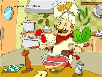 Learn Spanish Vocab: Food themes.