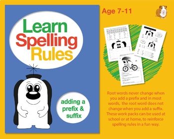 Learn Spelling Rules Challenge 10 & 11: Adding A Prefix And A Suffix