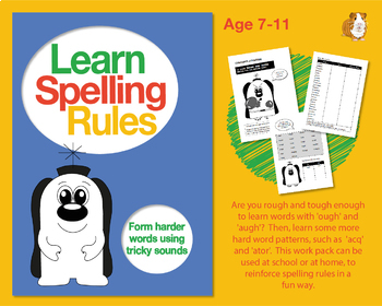 Learn Spelling Rules Challenges 14 & 15: Form Harder Words Using Tricky Sounds