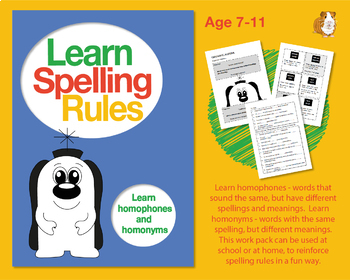 Learn Spelling Rules Challenge 16: Learn Homophones And Homonyms