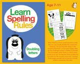 Learn Spelling Rules Challenge 2: Doubling Letters (7-11 years)