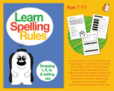 Learn Spelling Rules Challenge 8: Dropping 'f', 'ff', 'fe' & Adding 'ves' (7-11)
