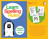 Learn Spelling Rules Challenges 4, 5, 6 & 7: Dropping And