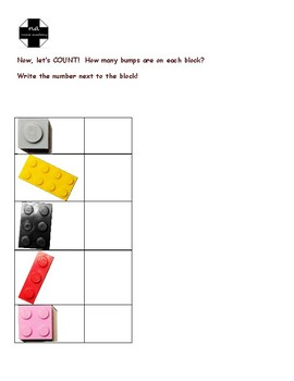 Learn Square Numbers with Building Blocks