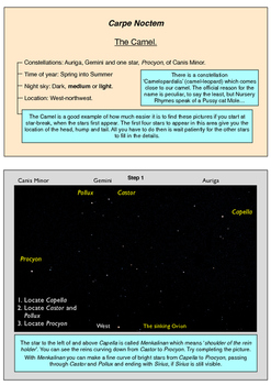 Learn Stars and Constellations using amazing night sky pictures. S1. May