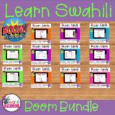 Learn Swahili : Boom cards learning bundle