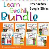 Learn Swahili : Interactive Google Slides Bundle| Distance