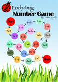 Learn Thai Numbers and Words with Ladybug Number Game