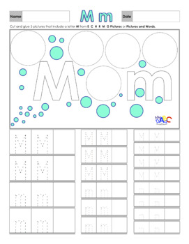 Learn The Letter M With Us | Printing and Picture Find Printables | MyABCDad