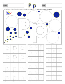 Learn The Letter P With Us   Printing and Picture Find Printables   MyABCDad